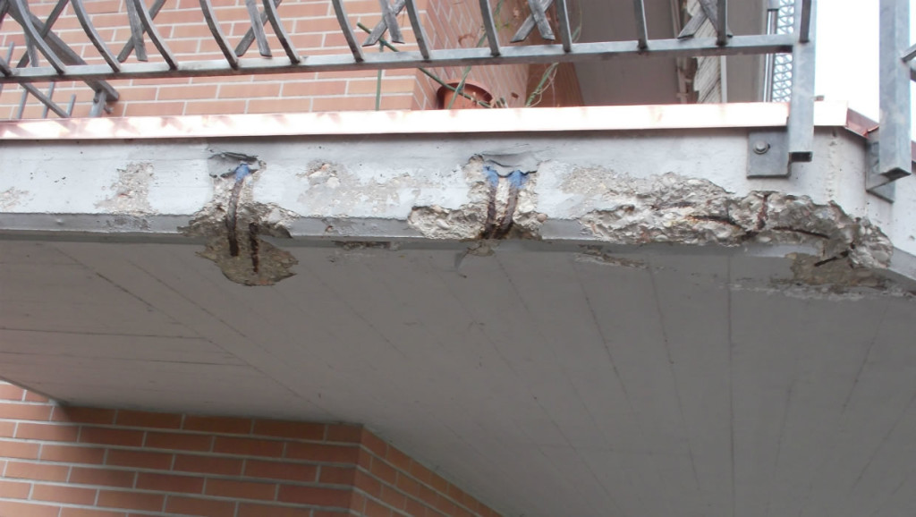 Waterproofing of facades and balconies